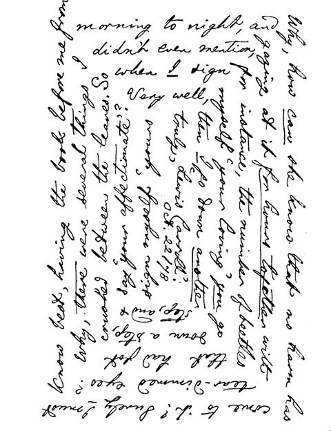 Lewis Carroll - Spiral Letter (A Sporal letter -1878