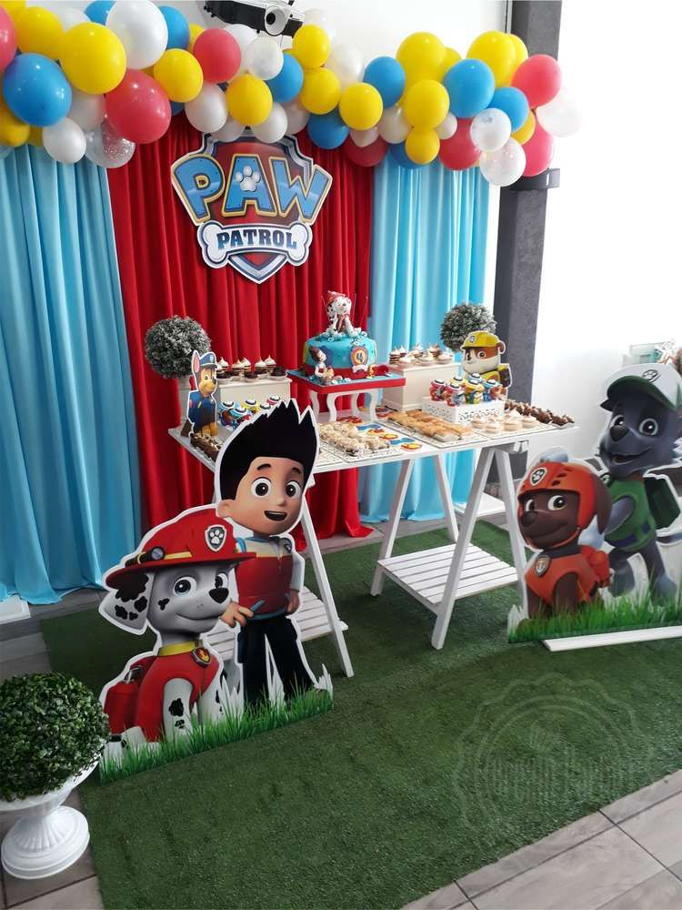 Enjoyable Check Out This Awesome Paw Patrol Birthday Party See More Download Free Architecture Designs Scobabritishbridgeorg
