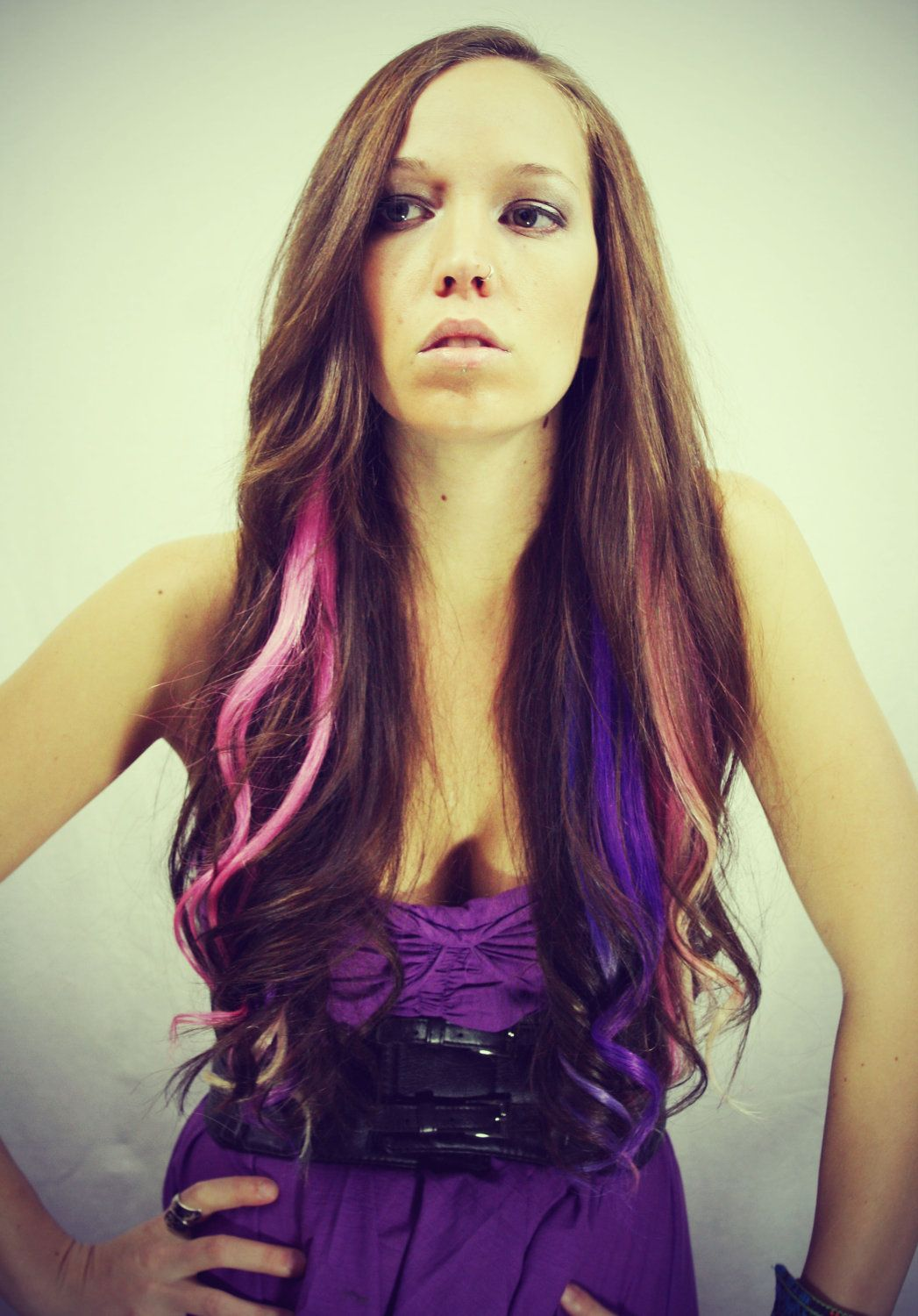 Okay So I Know This Is Unusual But When I Saw The Tie Dyed Hair