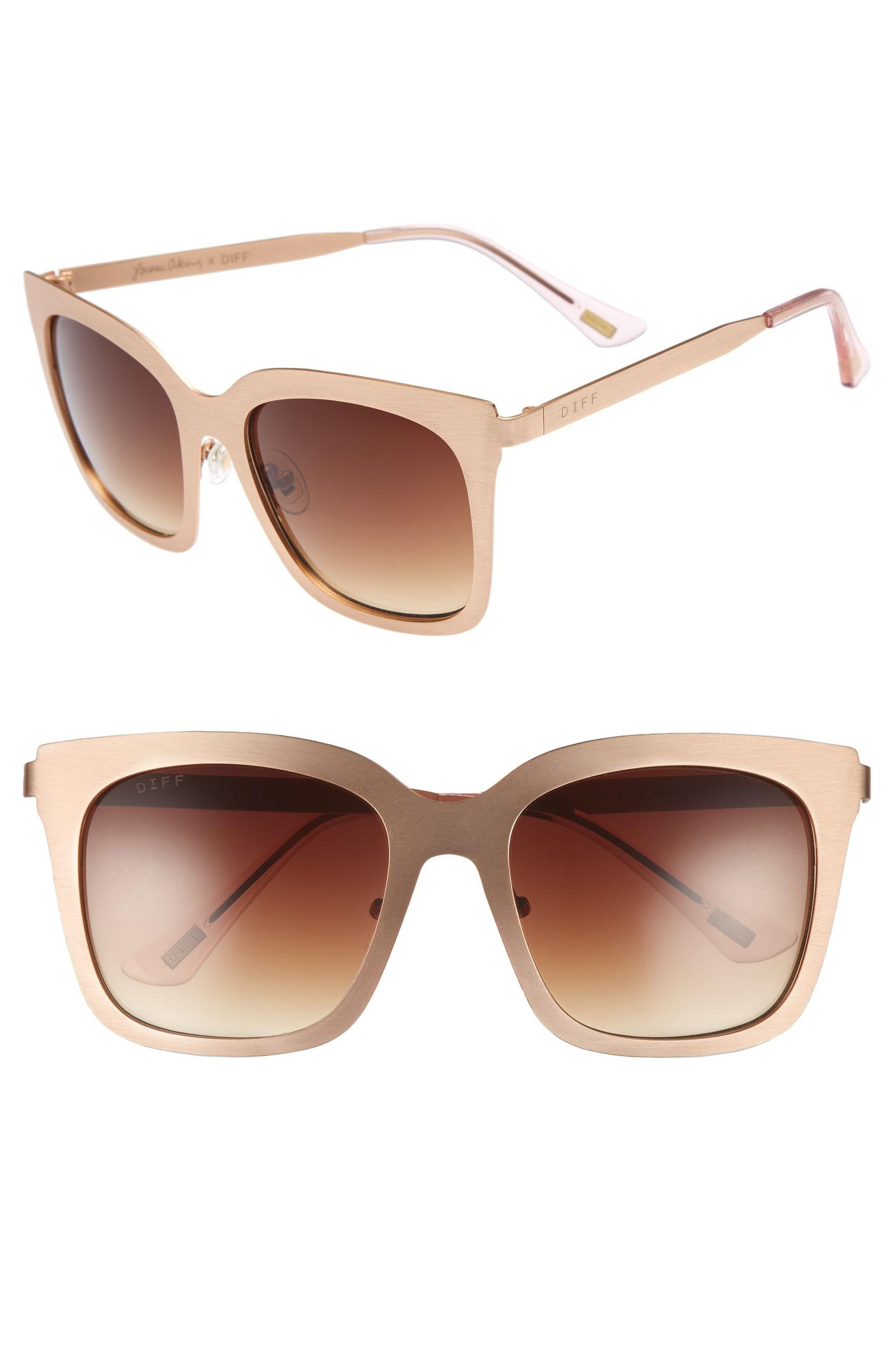 2f68caca00 x Lauren Akins Ella 53mm Cat Eye Sunglasses
