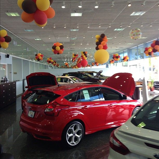 Our Showroom Ready For Fall Fall Autumn Cars Auto Ford Focus Beyerford Morristown Newjersey Nj Used Ford Ford Morristown