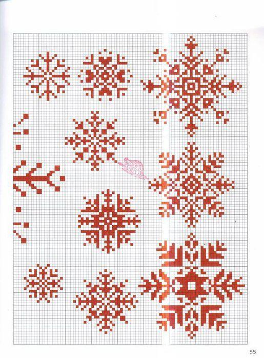 Snowflakes!  Take your pick...