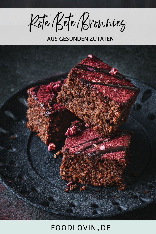 Rote Bete Brownies Rezept Lebensmittel Essen Rote Bete Und Rezeptideen