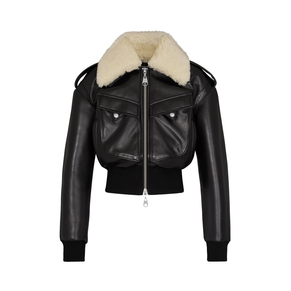 Leather Bomber Ready To Wear Louis Vuitton Leather Jackets Women Leather Bomber Jackets For Women