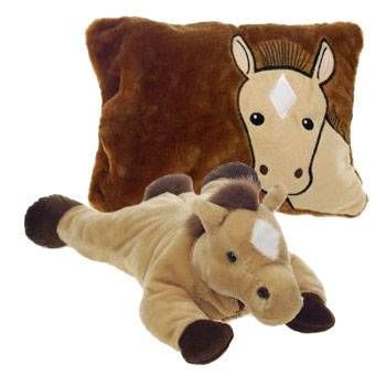 Horse Peek A Boo Plush Pillow 19 Quot A Pillow That Unzips