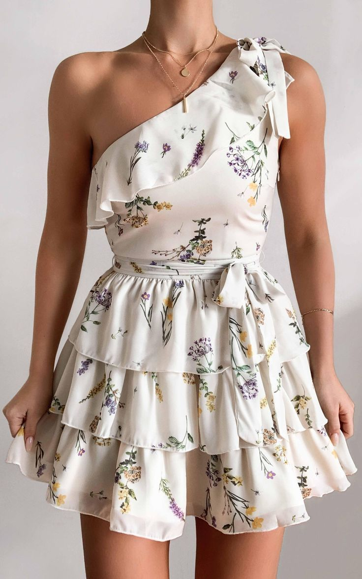 Dreaming Of Us Dress in botanical floral | Showpo