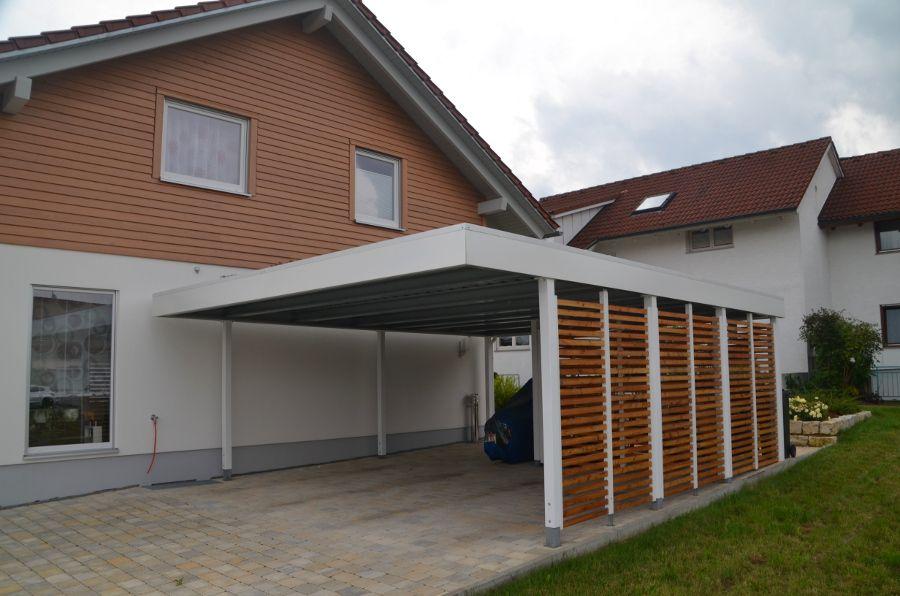 doppelcarport wei holz offen ger teraum myport carport pinterest. Black Bedroom Furniture Sets. Home Design Ideas