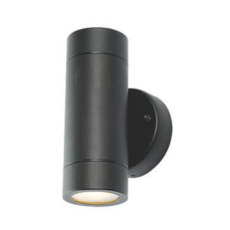 Lap bronx outdoor up down wall light black outdoor wall lights lap bronx outdoor up down wall light black outdoor wall lights screwfix aloadofball Images