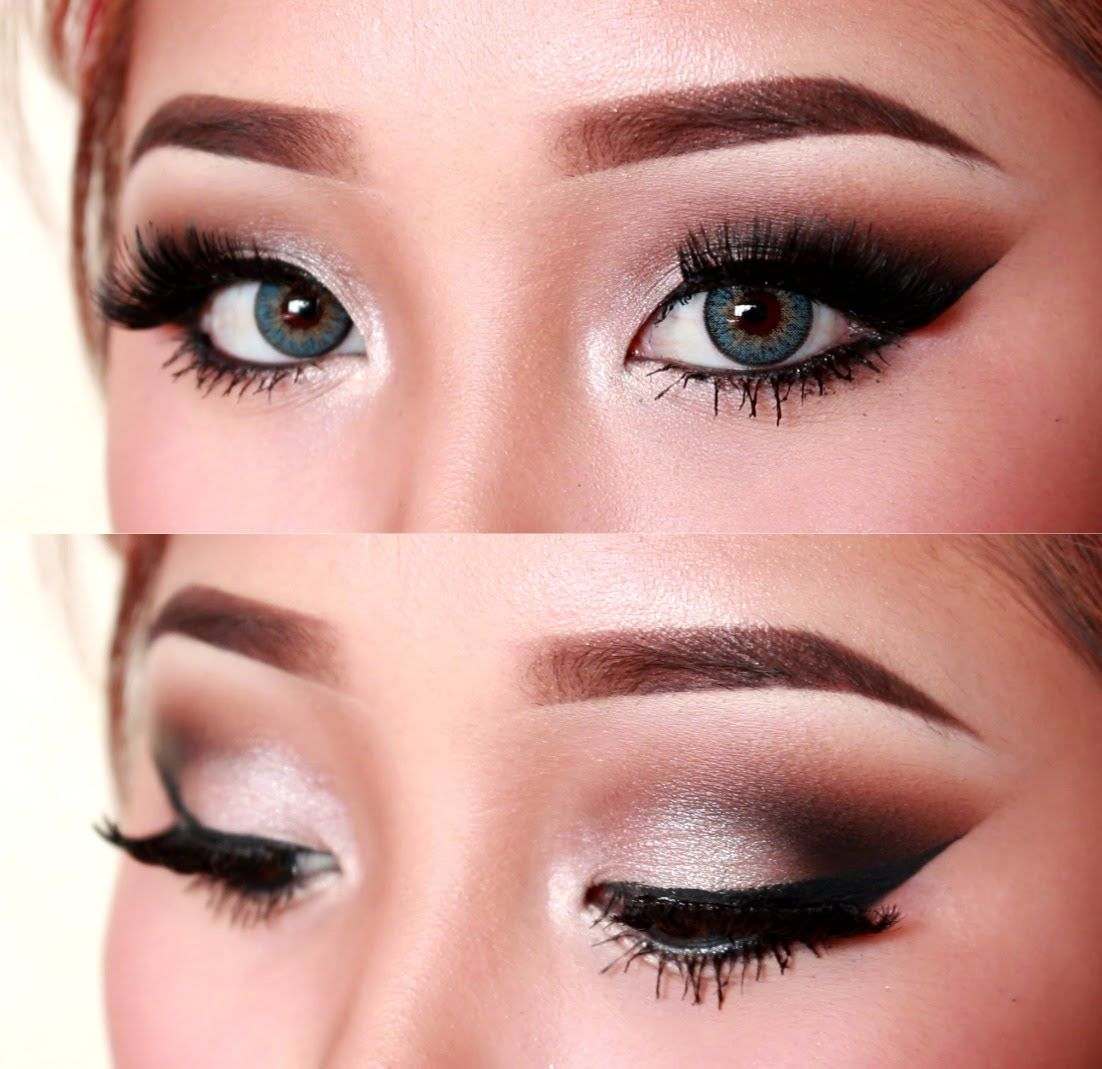 Sultry Silver Cutcrease Eye Makeup Tutorial Sultry
