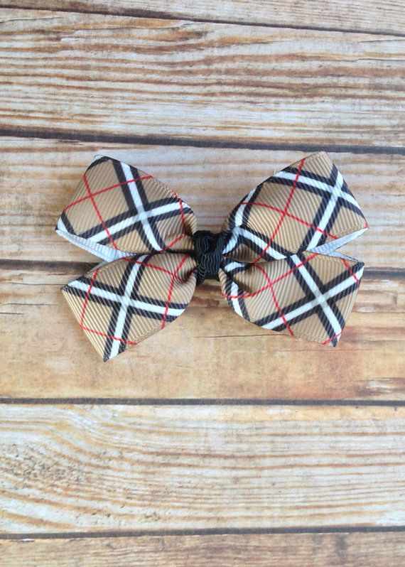 Checkered hairbow