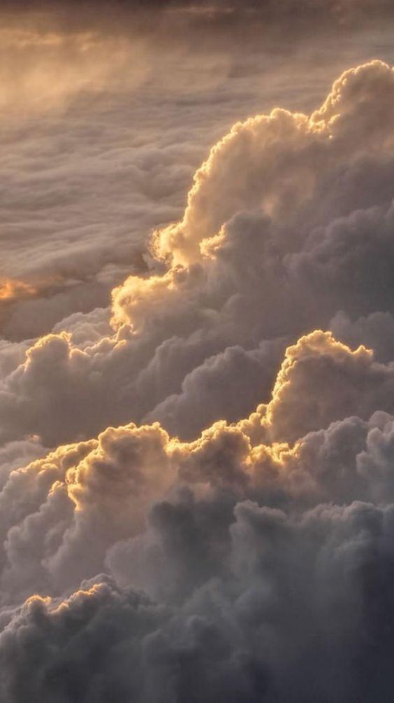 35 Schöne Wolke ästhetische Tapete Hintergründe für iPhone (Download!) #Backgroundsiphone