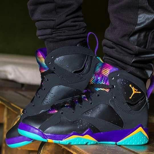 Air Jordan 7 Retro Custom #sneakers #shoes #basketballshoes ...