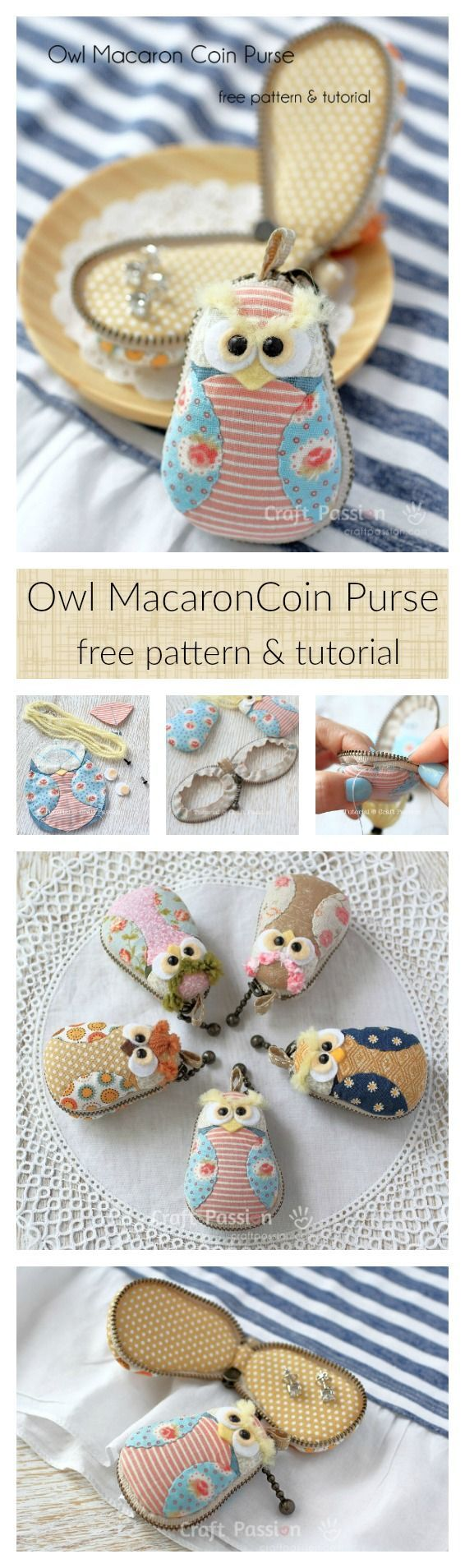 Owl macaron coin purse free sewing pattern macaron coin purse owl macaron coin purse free sewing pattern jeuxipadfo Image collections