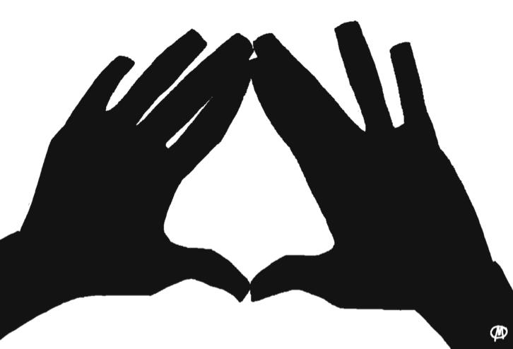 Deca Diamond Love Throwing This Hand Symbol Around My Love For
