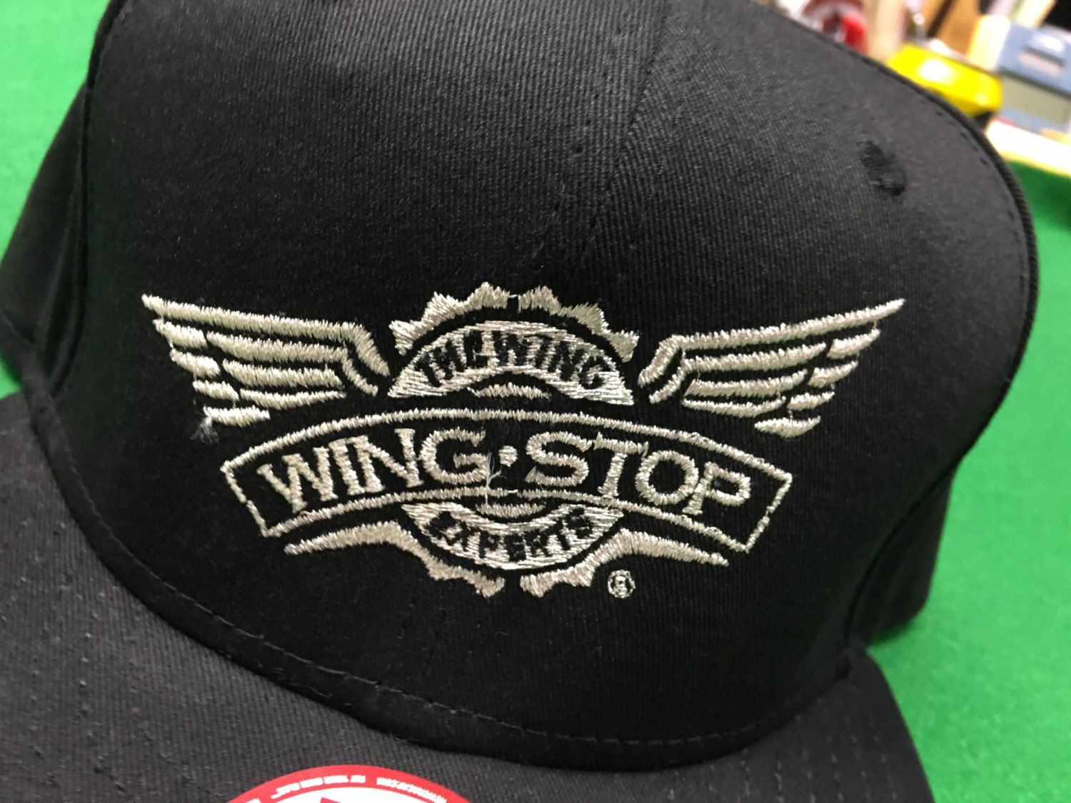 quality design 37af5 d0488 Wing Stop - The Wing Experts Adjustable Snapback Cap by CoryCranksOutHats  on Etsy