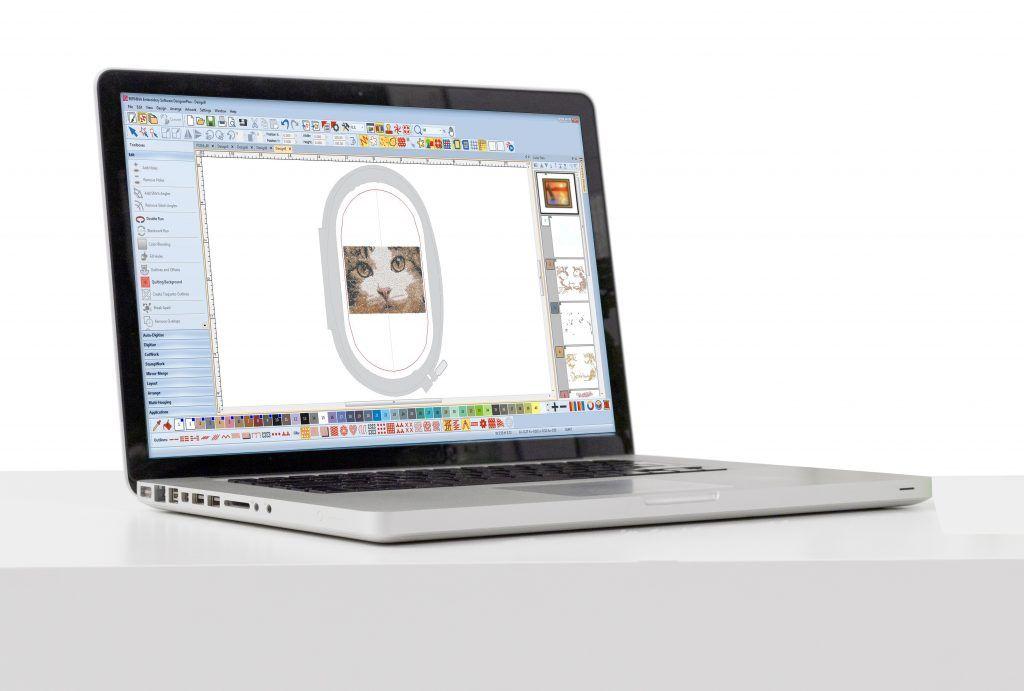 """Ihr seid Euch nicht sicher, ob Ihr die neue BERNINA Sticksoftware 8 DesignerPlus braucht oder updaten solltet? Ihr wollt nicht die """"Katze im Sack"""" kaufen?  Das müsst Ihr auch nicht, denn Ihr könnt die BERNINA 8 30 Tage lang völlig kostenlos auf Herz und Nieren (oder besser Stiche und Stickmotive) testen. Und da ich in den nächsten Tagen damit beginnen werde, jede einzelne Neuerung für Euch v ..."""