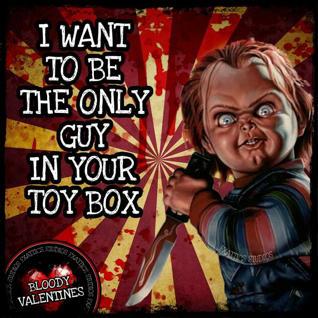 Pin By Kisah Meyer On Valentine S Day Horror Movies Memes Movie Memes Valentines Cards