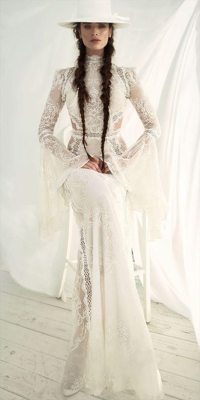 Meital zano hareli umodern gypsyu bridal collection lace