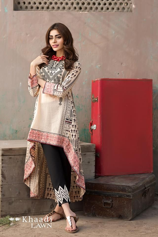84dd748a9c Khaadi Lawn 2017 Vol.2 Two Piece Collection For Girls | block pr ...