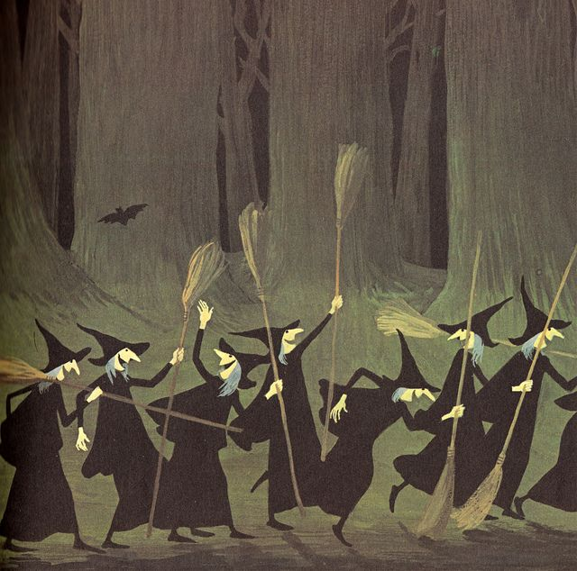 Adrienne Adams - A woogle of witches, 1971.