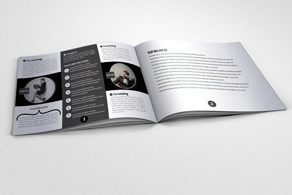4 pages business bi fold brochure business flyers brochures and