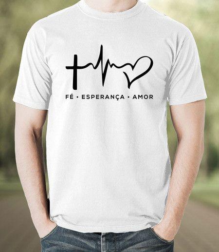 076284b5e Camiseta Fé