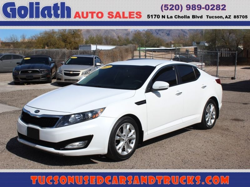 2013 Kia Optima Lx Goliath Auto Sales Llc Auto Dealership In Tucson In 2020 Kia Optima Kia Car Dealership