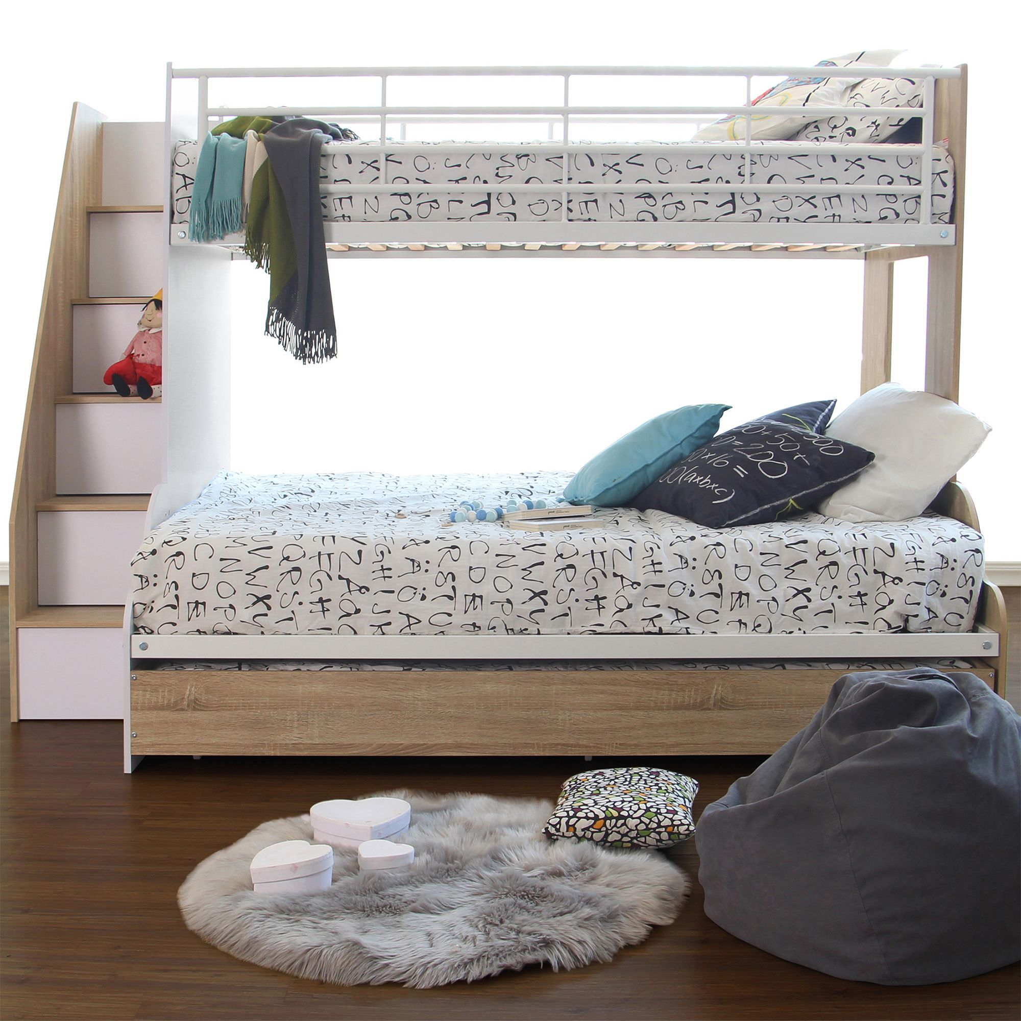 Photo of Sonoma Levin Single Over Double Bunk Bed –  VIC Furniture Sonoma Levin Single Ov…