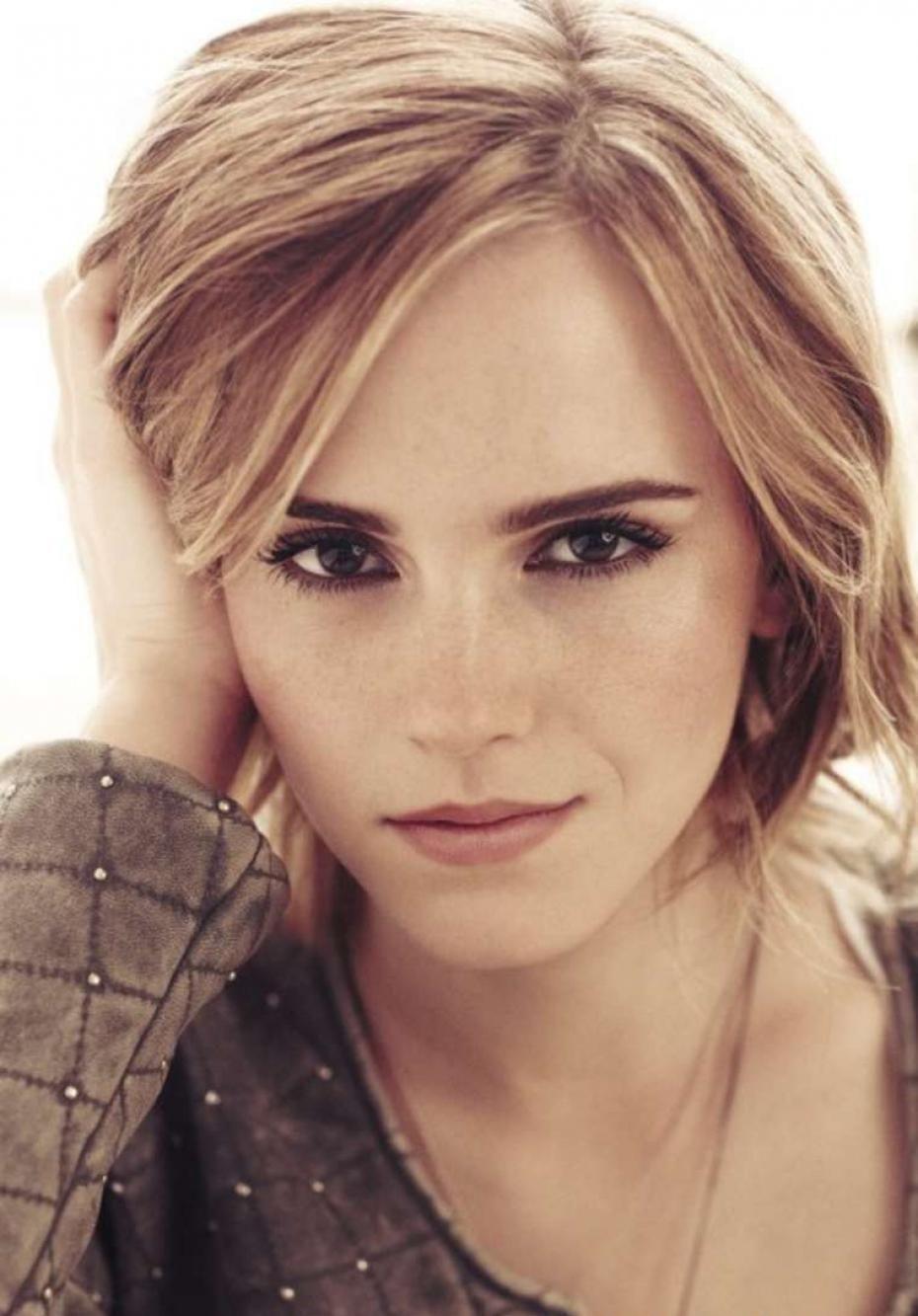 Emma Watson rock en couverture de Marie Claire Février