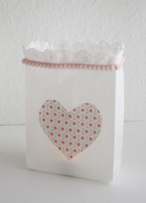 beloved home: wind light from bag paper bag