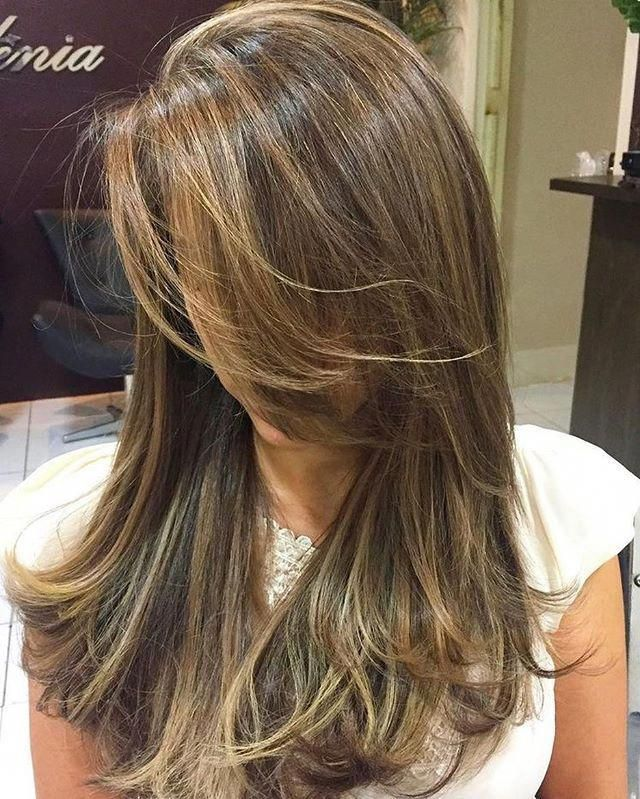 Partial vs Full Highlights: Theory, Tips and Examples in 2020   Balayage hair, Thick hair styles ...
