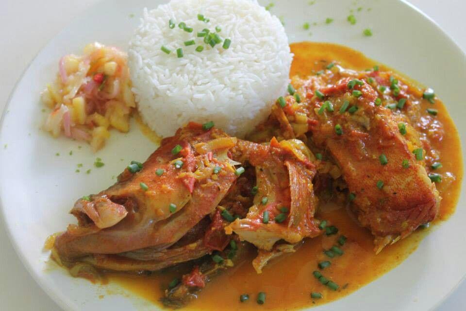 Carry poisson rouge la reunion cuisine reunionnaise recette r unionnaise et cuisine indienne - Cuisine reunionnaise recette ...