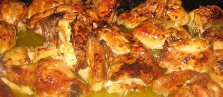 Spanish lemon garlic chicken food pinterest lemon garlic spanish lemon garlic chicken forumfinder Images