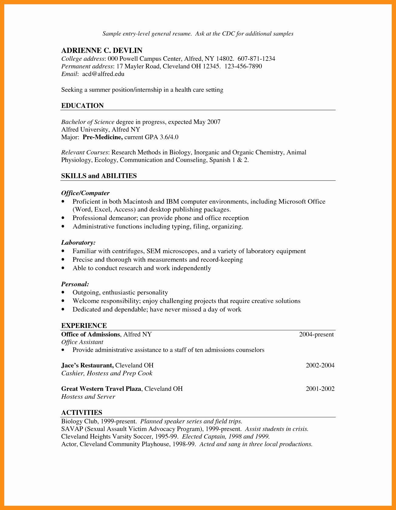 Servers Resume Job Description Best Of Hostess Server Job Description