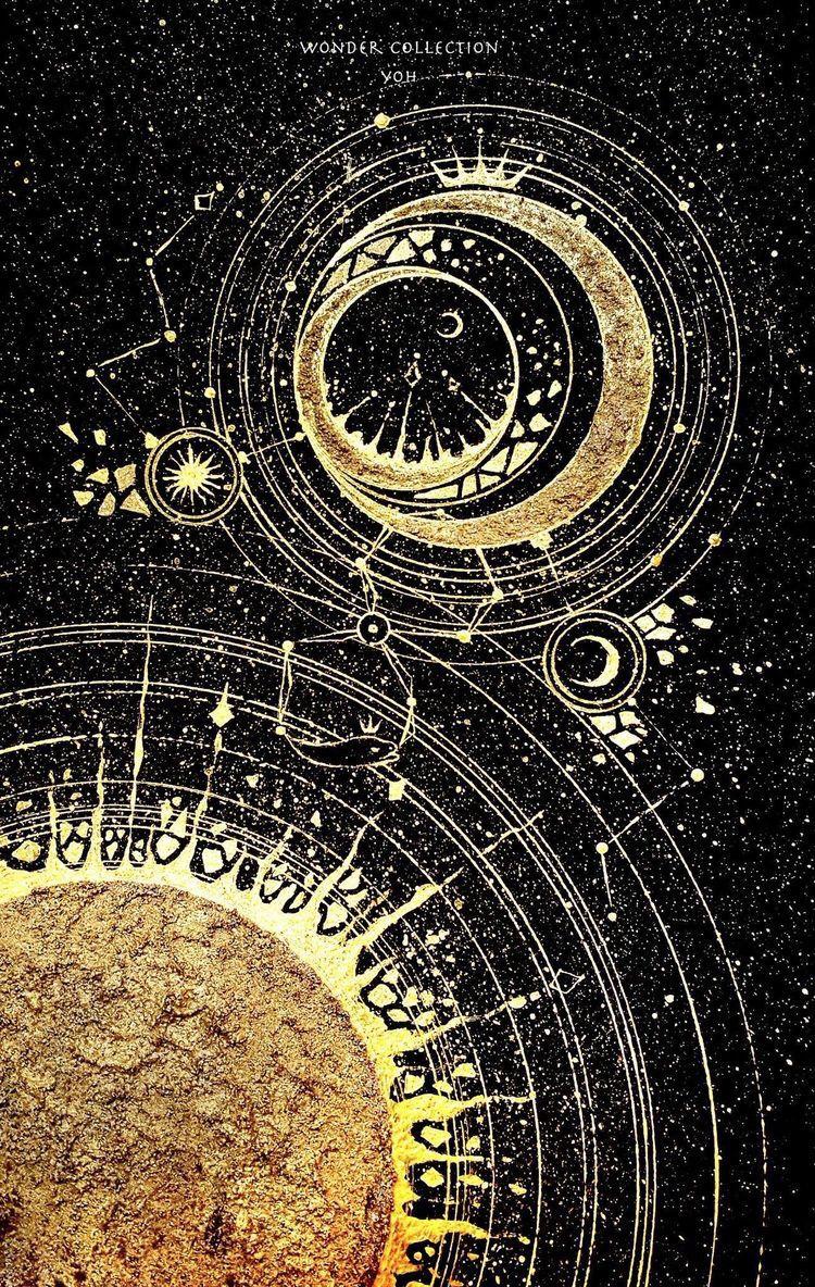 Aesthetic Tumblr Space Moon Art Art Wallpaper Art