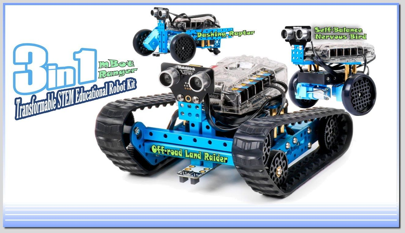Learning Experience And Review The Makeblock 3 In 1 Mbot Ranger