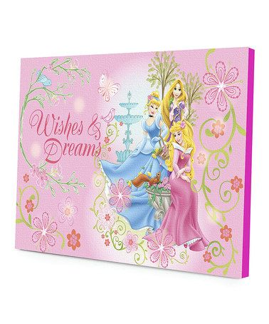 Another Great Find On Zulily Disney Princess Wishes Dreams Led