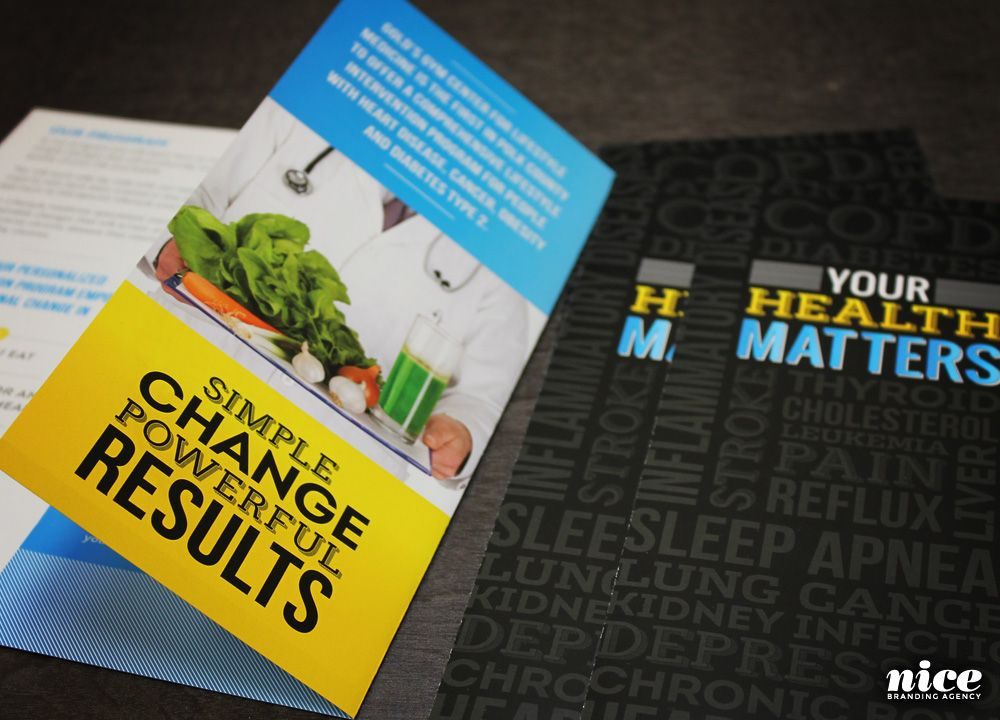 Fitness Marketing  Fitness Brochure Design For GoldS Gym