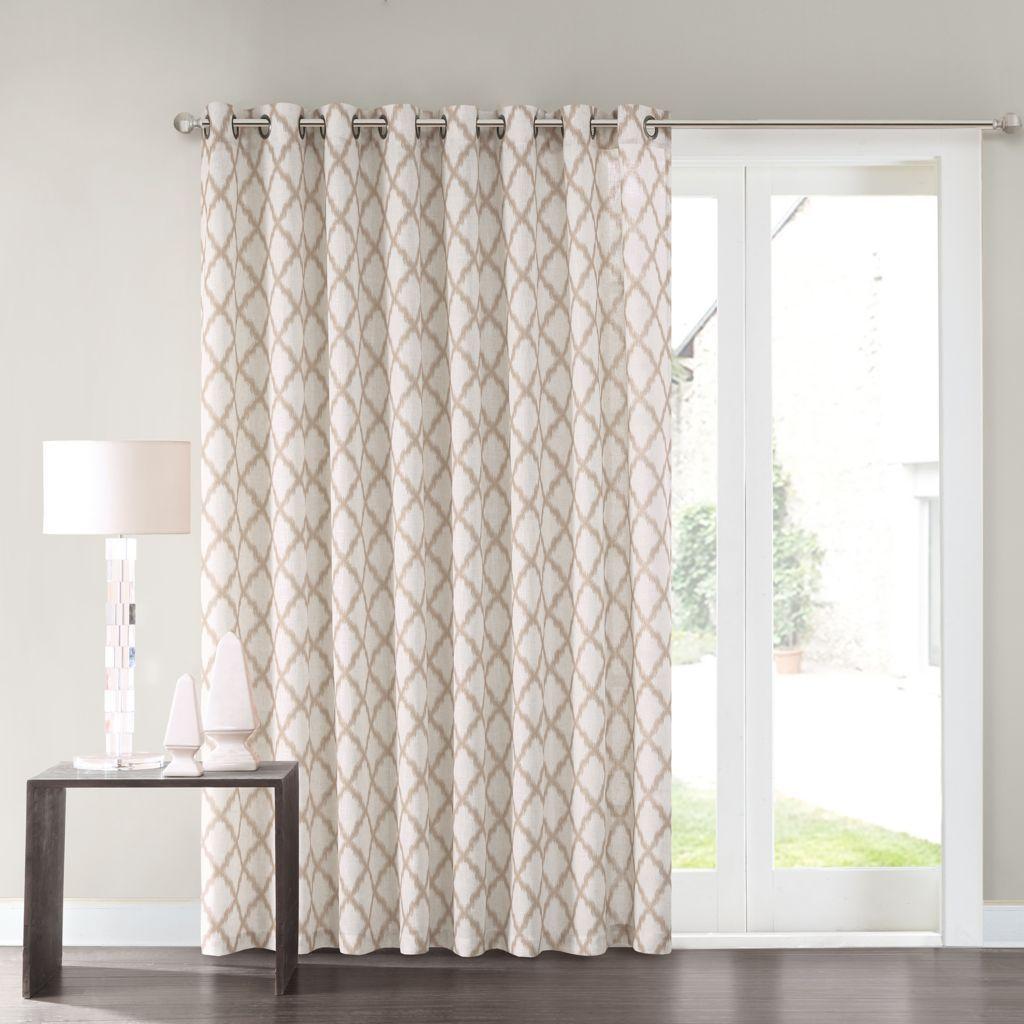Kitchen Patio Door Curtains.Sonoma Goods For Life Dallon Patio Door Curtain 100 X
