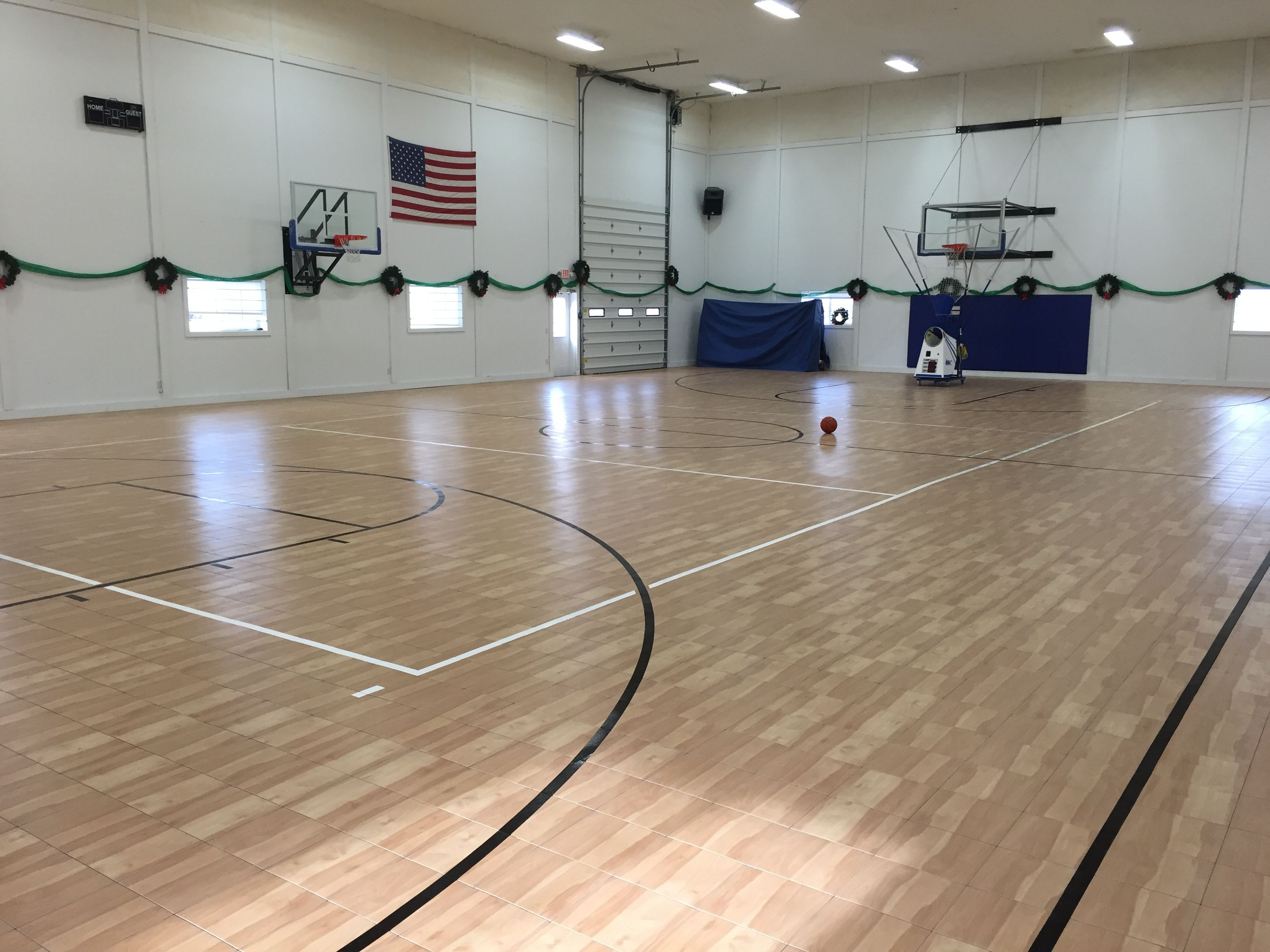 Basketball Court Residential Gym