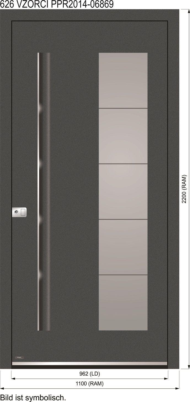 Restposten Original Verpackte Messetur Wurde Gebaut Verpackt Und Nie Aufgebaut Aluminium Haustur Modell 626 Ne Aluminium Hausturen Hausturfullung Haustur