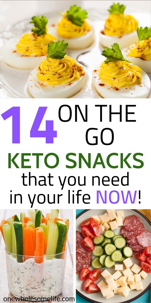 On the Go Keto Snacks  #nocarbdiets