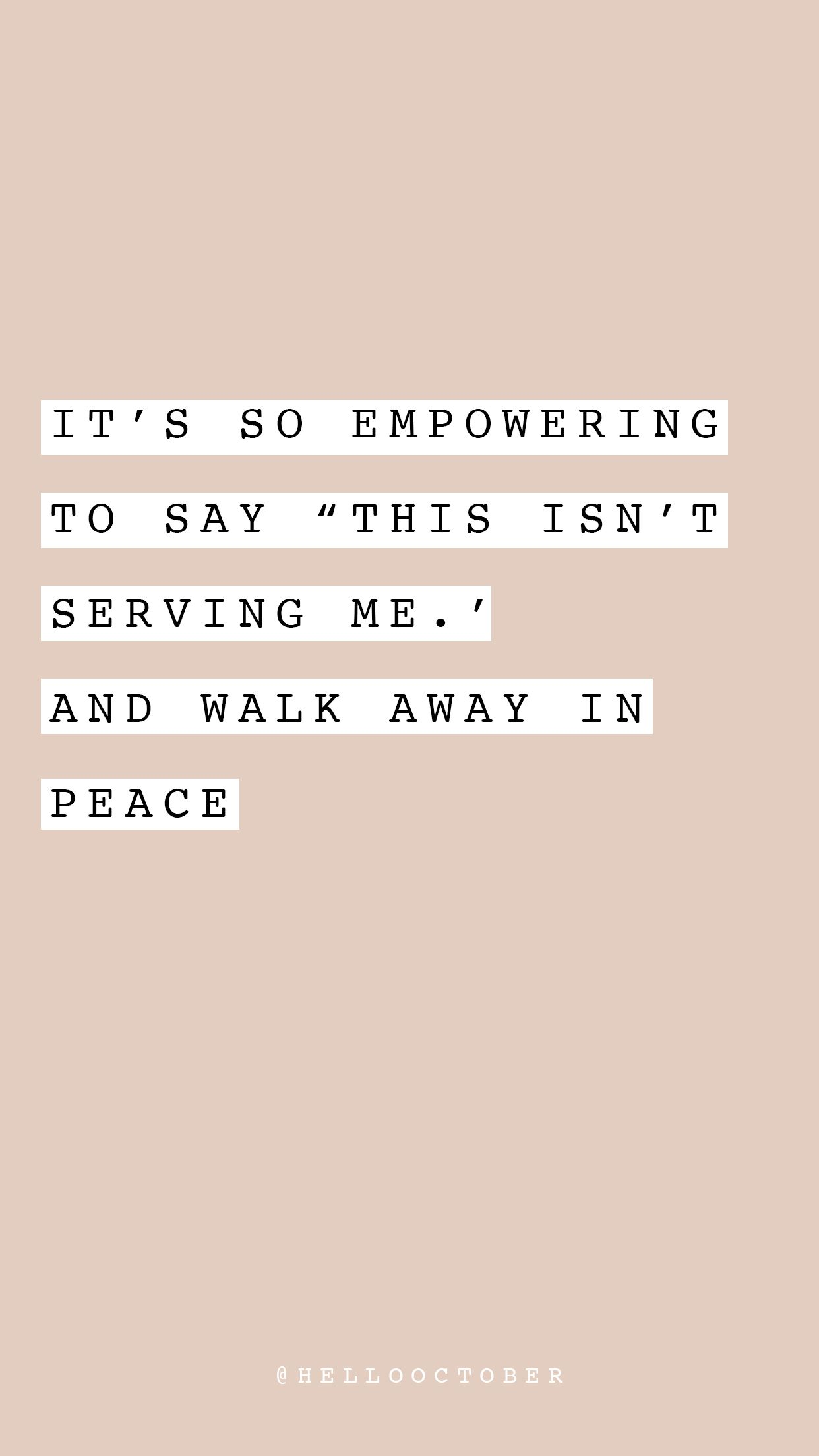 Instagram Hellooctober Empowerment Quotes Words Quotes Words
