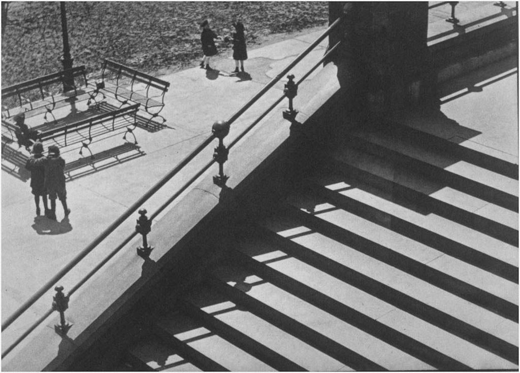 paul strand abstraction porch shadows