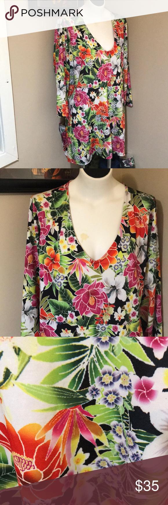 Slinky 2x Floral Summer Dress Floral Dress Summer Summer Dresses Clothes Design [ 1740 x 580 Pixel ]