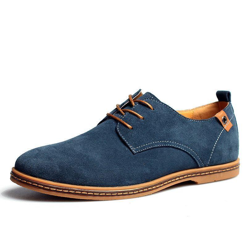 Homme 48 Men's Size 38 Handmade Shoes Genuine Chaussure wOk0n8P