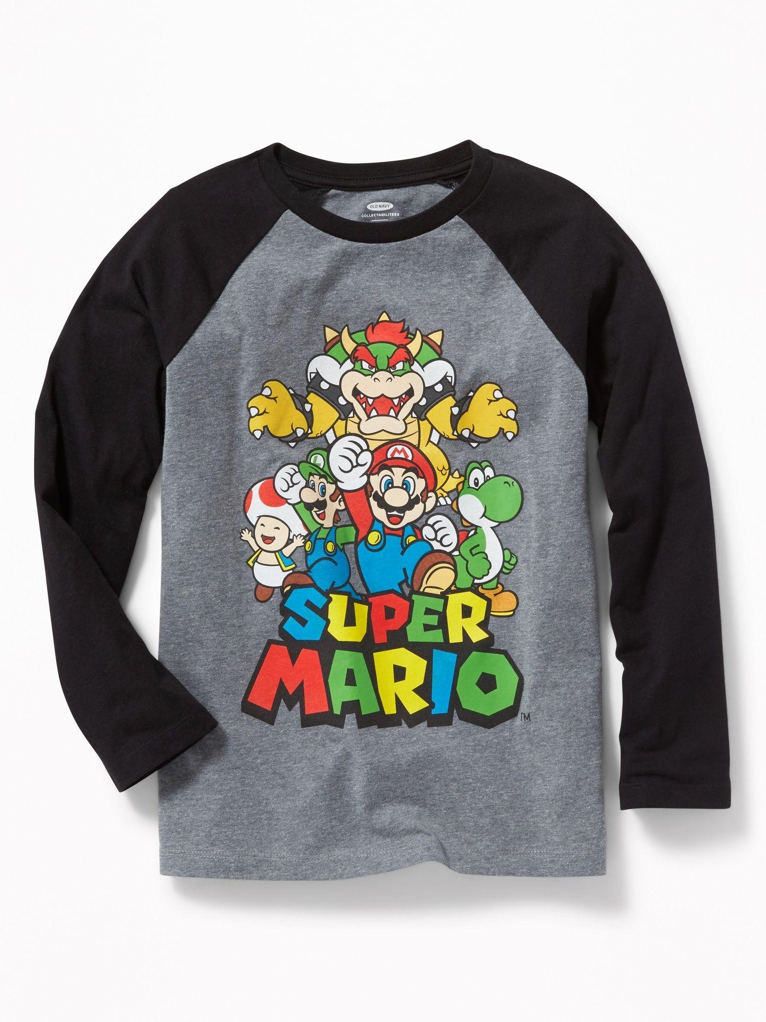 Old Navy Super Mario Shirt 17 Super Mario Shirt Mario Shirt Mario Bros [ 2000 x 1500 Pixel ]