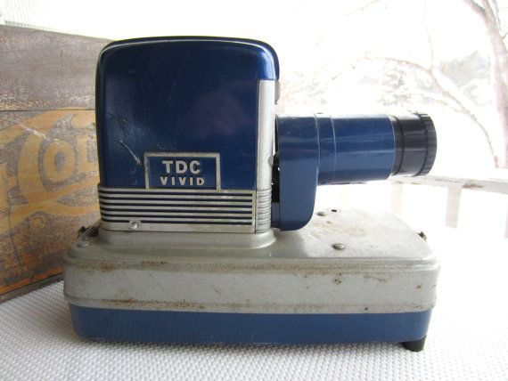 Vintage TDC Slide Projector Vivid Show Pak 300 Industrial Decor on Etsy, $60.00