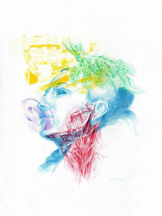 Vacon Sartirani Alessandra | Anatomy in Art | Pinterest