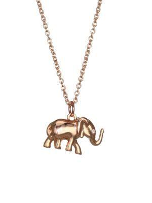 1aa89b38d3798 KATE SPADE ???Things We Love Elephant Pendant Necklace. #katespade ...